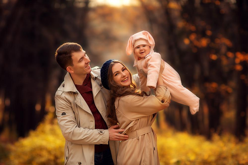 Семейные фотосессии в Москве