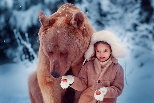 Фотосессия-с-медведем