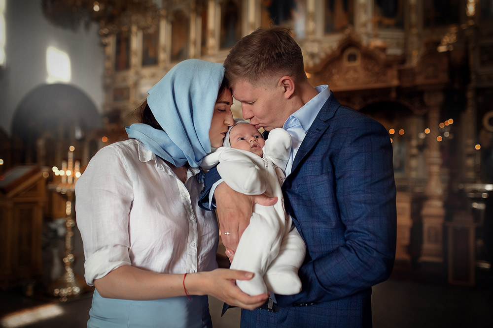 Фотосъемка Крещения