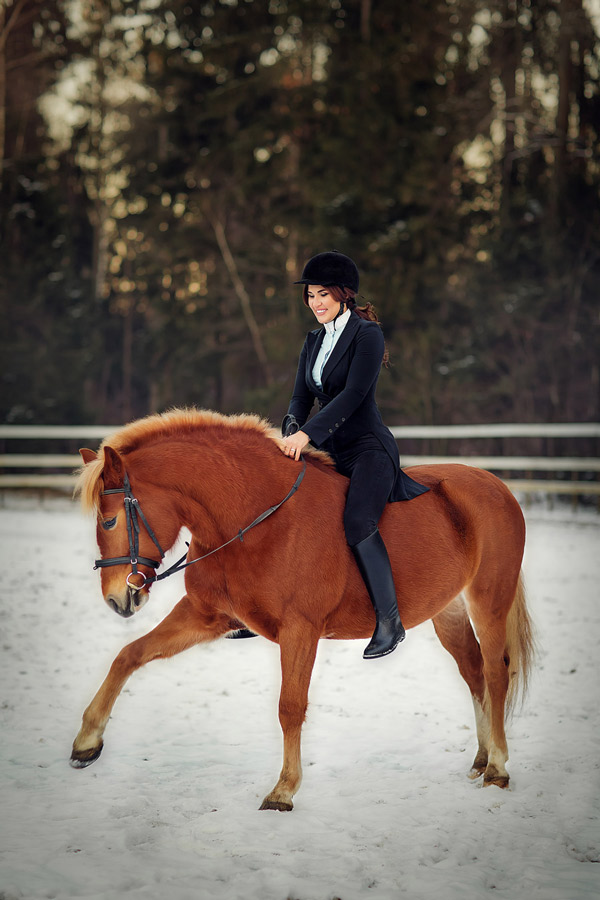Фотосессия с лошадьми в Москве